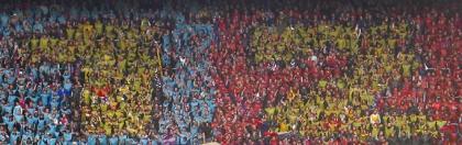 Choreographie FC Basel-FC Zürich